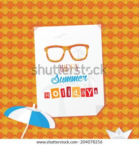 Happy Summer Holidays Vacation Wallpaper