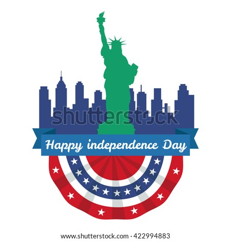 Happy 4th of July, Independence Day Vector Design, usa