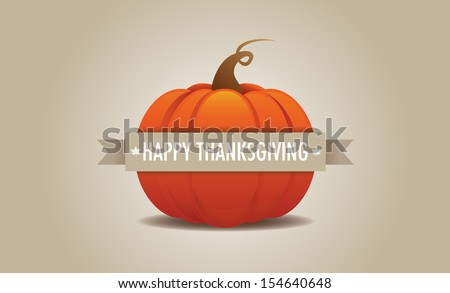 Happy Thanksgiving 2 - stock vector