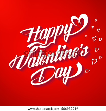 happy valentines day poster typographical background stock vector, Ideas