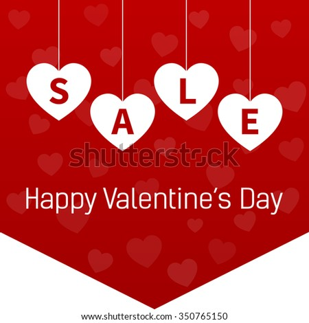 happy valentines day sale promotion website stock vector 350765150, Ideas