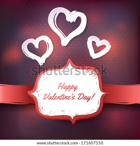Happy Valentine's Greeting Card