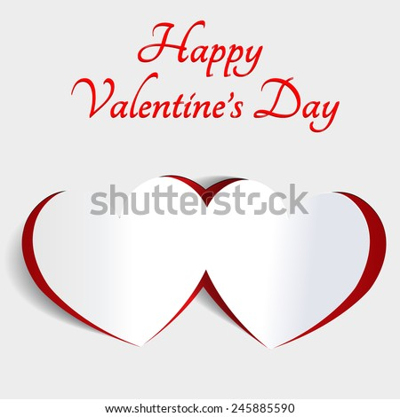 Happy Valentines day. 14 february. Weeding design banner. Vector illustration. Pink Background Hearts.
