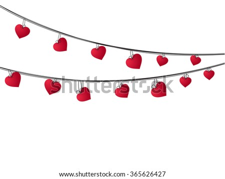 Happy valentines day gift card or greeting card design with beautiful heart.