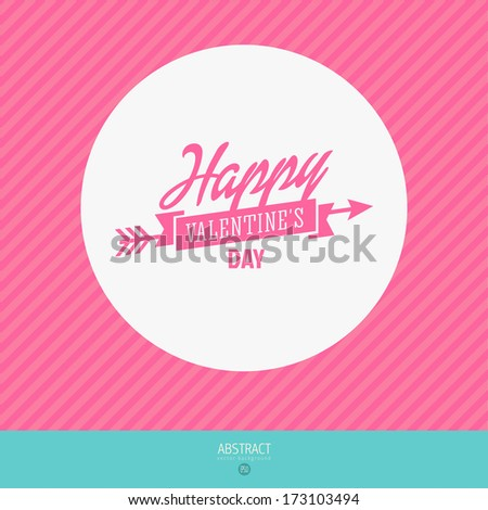 Leona Kalis Valentines Day cards Vector Typography Template – Template for Valentine Card