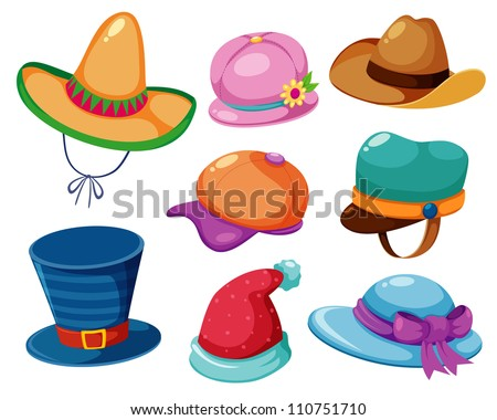 Hat vector set