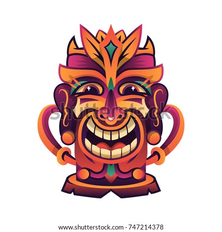 Tiki Totem Pole Stock Images, Royalty-Free Images ...