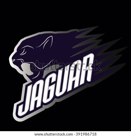 Head Jaguar professional logo for a club