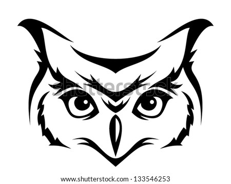 Owl Outline Stock Images Royalty Free Images amp Vectors