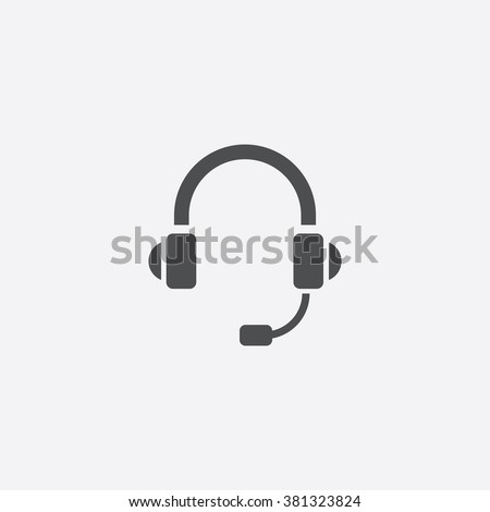 headphone Icon. headphone Icon Vector. headphone Icon Art. headphone Icon eps. headphone Icon Image. headphone Icon logo. headphone Icon Sign. headphone Icon Flat. headphone Icon. headphone icon app - stock vector