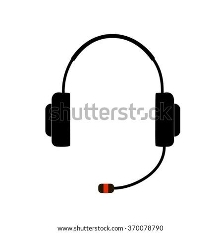 Headphone Icon / Headphone Icon Vector / Headphone Icon Image / Headphone Icon Graphic / Headphone Icon Art / Headphone Icon JPG / Headphone Icon JPEG / Headphone Icon EPS / Headphone Icon AI - stock vector