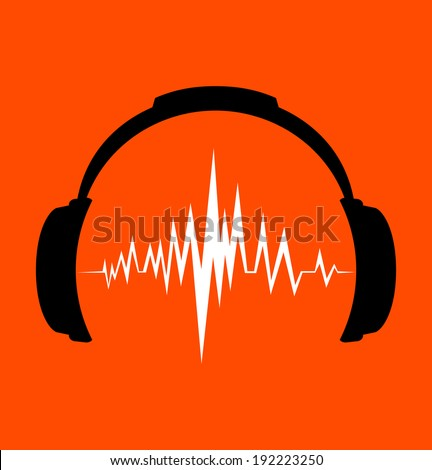 Beats Audio Logo Vector Wave beats - stock vectorBeats Audio Logo Vector