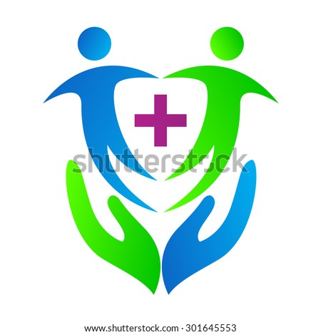 health care design used for medical and hospital logo.