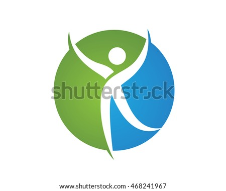 Health people Logo Template vector icon design