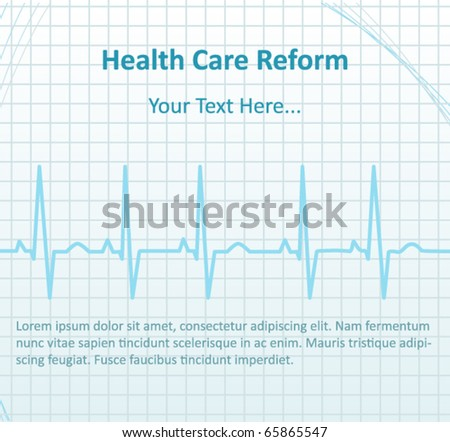 healthcare background - stock vector