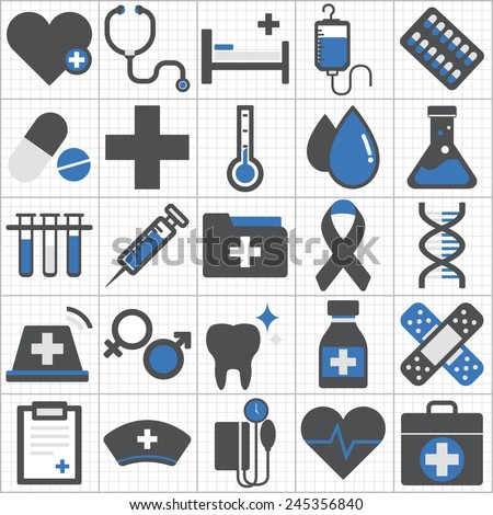 Hospital Laboratory Icon Hospital Laboratory Icon