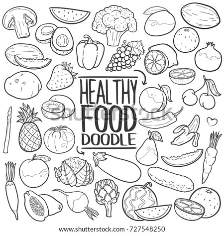 Food Doodles Stock Images Royalty-Free Images U0026 Vectors | Shutterstock