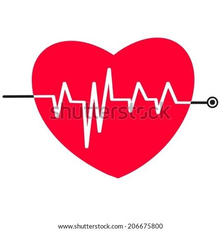 Heart. - stock vector