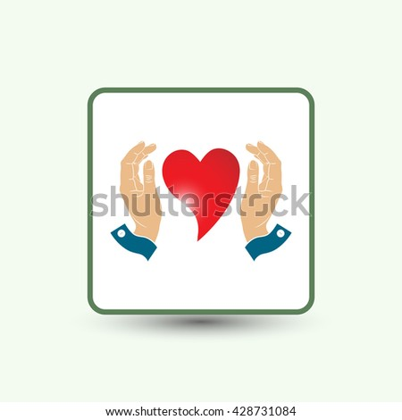 heart  and  hands , sign