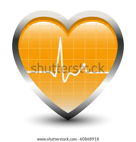 Heart Beats - stock vector