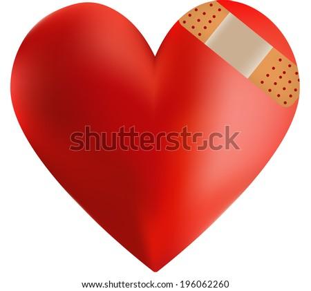 Heart DIsease - stock vector