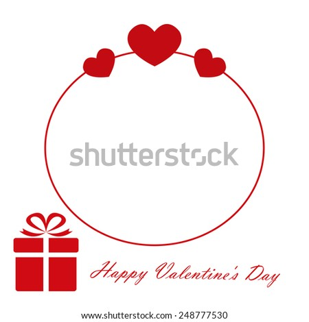 Heart from paper Valentines day card vector background eps 10 - stock vector