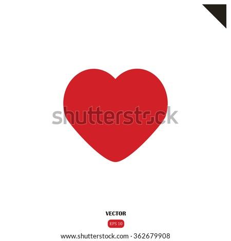 Heart, Heart Icon, Heart Vector, Heart Flat, Heart Sign, Heart App, Heart UI, Heart Art, Heart Logo, Heart Web, Heart JPG, Heart JPEG, Heart EPS, Red Heart, Heart Image, Heart Drawing, Heart Simple - stock vector