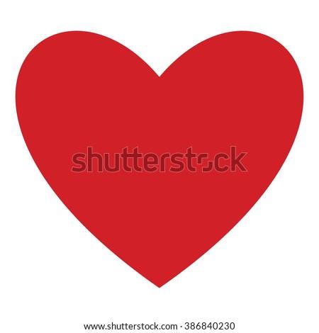 Heart icon, Heart icon eps10, Heart icon vector, Heart icon red, Heart icon flat, Heart icon object, Heart icon pictogram, Heart icon image, Heart icon picture, Heart icon art, Heart icon illustration - stock vector