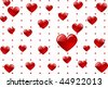heart love abstraction decorative pattern romance stylized sweetheart valentine - stock vector