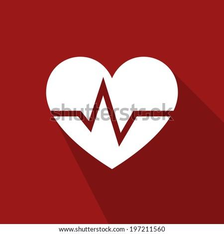 Heart medical - stock vector