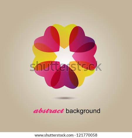 Heart Symbol - Isolated On Gray Background - Vector Illustration, Graphic Design Editable For Your Design. Logo Icon - stock vector