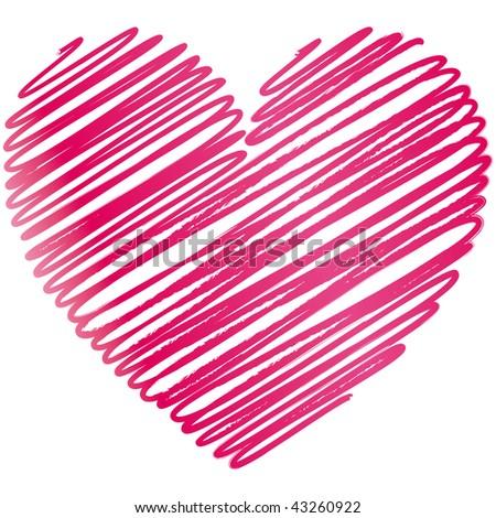 heart Vector Illustration - stock vector