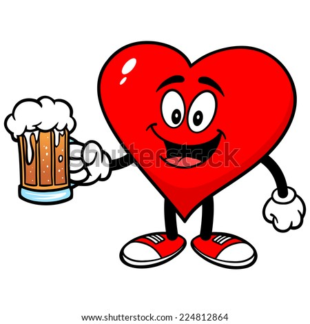 Heart with Beer