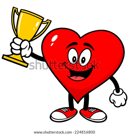Heart with Trophy
