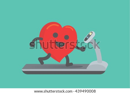 Running Heart Stock Images, Royalty-Free Images & Vectors ...
