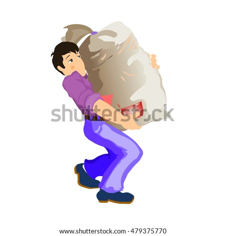 heavy lifting stock images royaltyfree images amp vectors