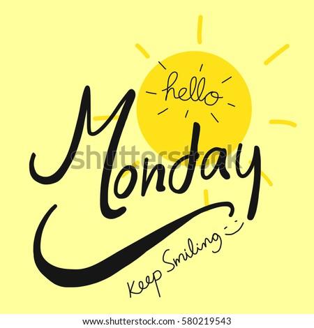 Monday Word Monday Stock Im...