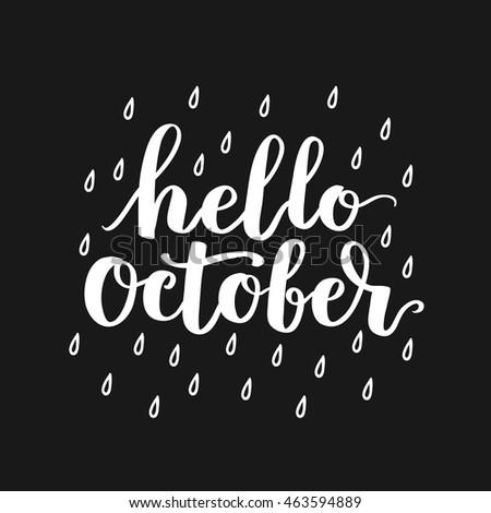Hello, October! | via Facebook on We Heart It