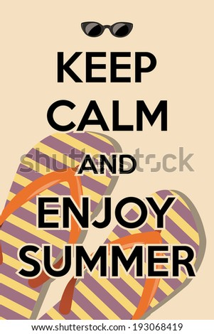 Perfect Hello Summer Sunny Background, Illustration In Vector Format.