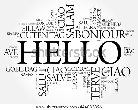 Greetings in different indian languages choice image greeting card hello word cloud different languages world stock vector 2018 m4hsunfo