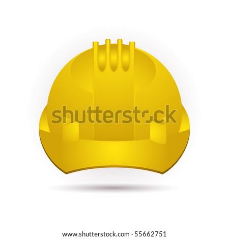 Icon Yellow Helmet Helmet Icon