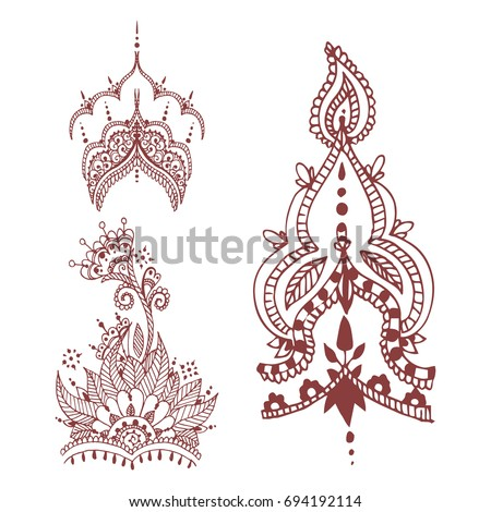 henna tattoo stock images royalty free images vectors shutterstock. Black Bedroom Furniture Sets. Home Design Ideas