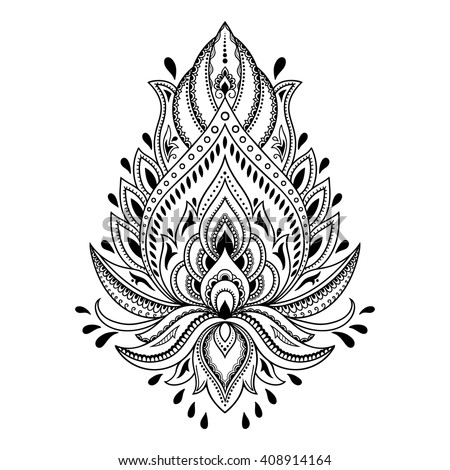 Henna stock images royalty free images vectors for Henna tattoo process