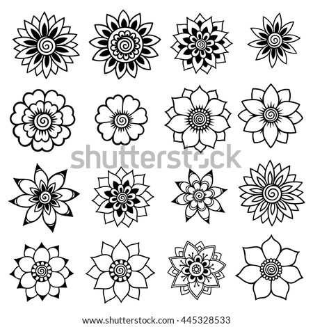 Stock Vector Hand Drawn Dividers Set Ornamental Decorative Elements Vector Ornate Elements Design as well Royalty Free Stock Photo Rosebud Rose Black White Like Tattoo Image40718325 likewise Floral Pattern also Floral  position Bouquet Hand Drawn Flowers 580843969 also Decoraciones Para Hojas. on decoration flowers