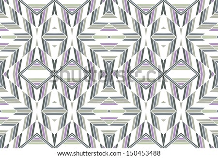 Herringbone retro seamless pattern that you can  use in your own design work - stock vector