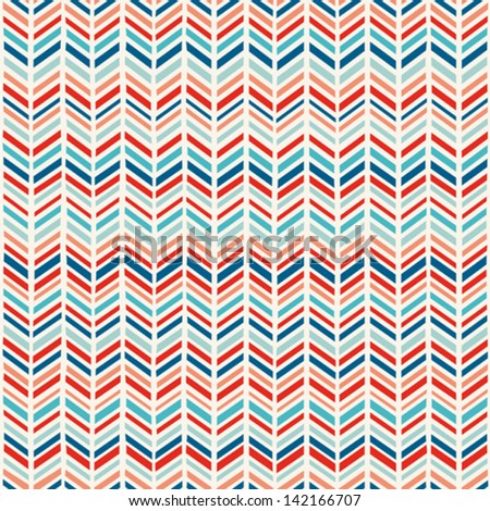 Herringbone summer colors pattern