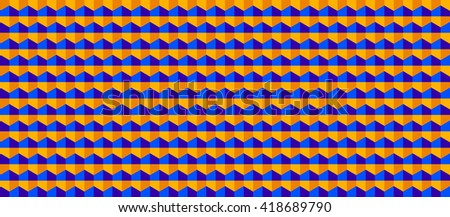 Hexagonal grid background. Cube vector background. Seamless geometric pattern. Modern style texture.