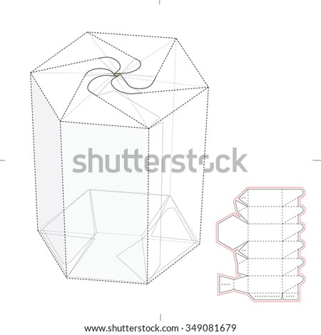 Spg 9 Fuse Box furthermore Hexagonal Push Lock Tube Retail Box 349081679 together with Pyramid Carrying Box Die Line Template 310303580 besides Prisms additionally s. on layout for hexagonal box