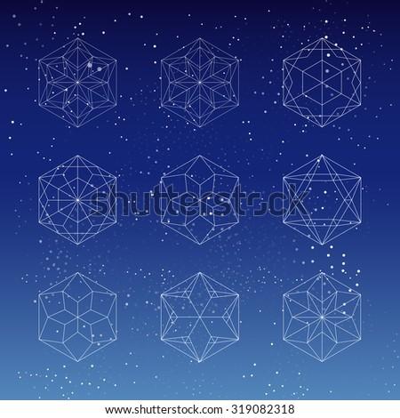 Hexagon Star Stock Vectors, Images & Vector Art | Shutterstock