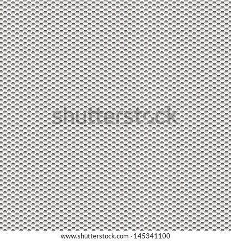 hexagone pattern or texture - stock vector